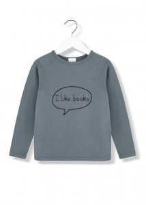 Kids On The Moon i like books longsleeve
