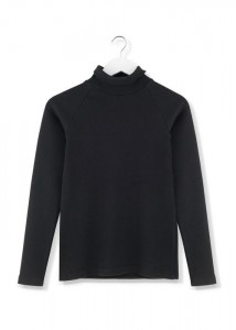 By The Moon Black Rock Turtleneck top