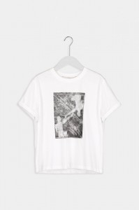 Humanoid Alix blackish t-shirt