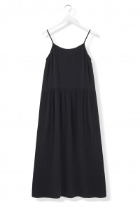 BY THE MOON Black rose dress