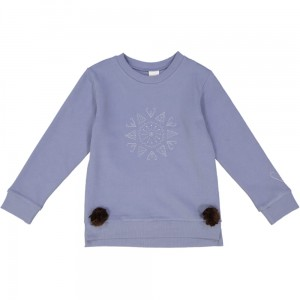 Kids On The Moon rosette sweatshirt
