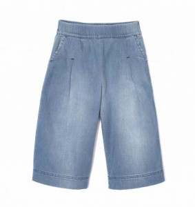 Kids On The Moon denim wide pants