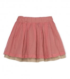 Kids On The Moon coral reef skirt