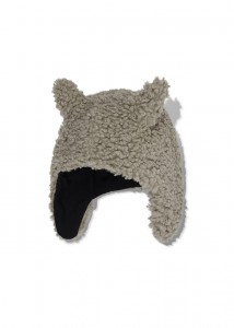 Kids On The Moon faun faux fur cap beige