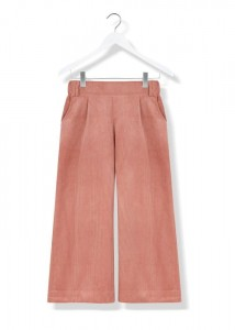 By The Moon Coral Corduroy Culottes