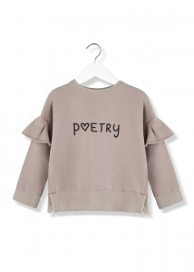 Kids On The Moon poetry sweatshirt