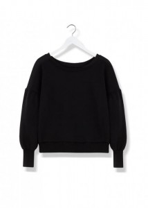 By The Moon Smoky Puff Sweatshirt