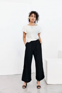 Humanoid Mola blackish trousers