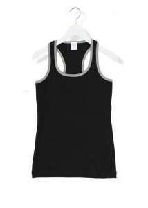 By The Moon black rose tank top