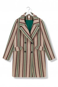By The Moon Forest Stripes Coat