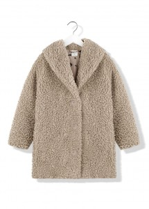Kids On The Moon gerda faux fur coat