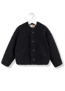 Kids On The Moon kai faux fur jacket