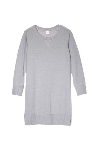 By The Moon - tunika Grey warm jersey