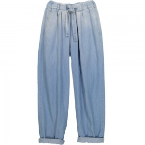 Kids On The Moon denim pants blue