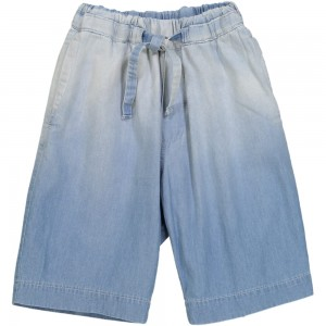 Kids On The Moon denim shorts blue