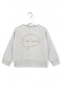 Kids On The Moon i like books sweatshirt