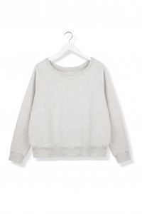 By The Moon Soft Cream Sweatshirt