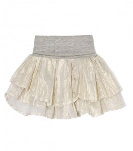 Kids On The Moon pearl shell skirt