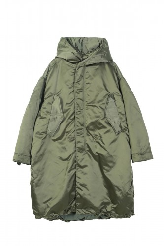 JNBY metallized coat with hood płaszcz 1.jpg