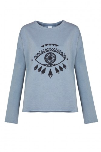 By-The-Moon-Weeping-Eye-sweatshirt-niebieski